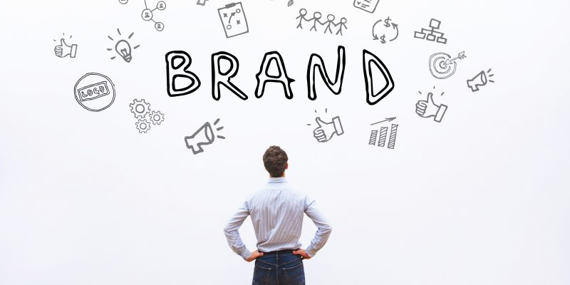 brand for company, branding business concept